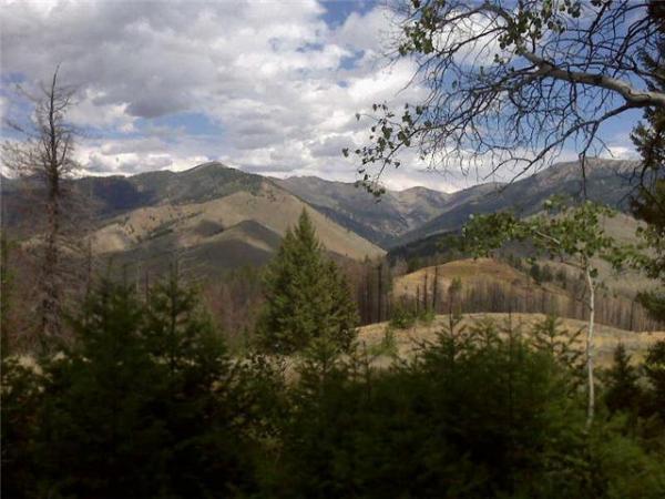 Idaho mountain home.